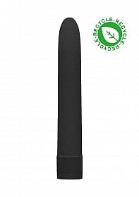"""7"""" Vibrator - Biodegradable - Black"""