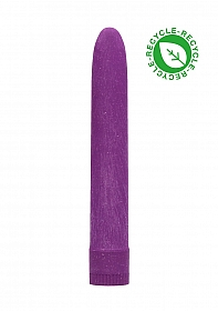 "7"" Vibrator - Biodegradable - Purple"