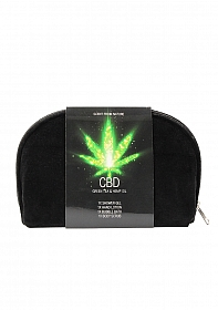 CBD - Bath and Shower - Toiletry set - Green Tea Hemp Oil