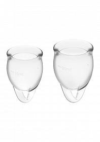 Feel Confident Menstrual Cup - Transparent