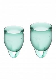 Feel Confident Menstrual Cup - Dark green