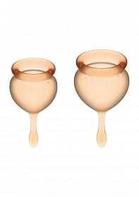 Feel Good Menstrual Cup - Orange