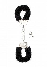 Furry Handcuffs - Black
