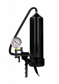 Elite Beginner Pump With PSI Gauge - Black