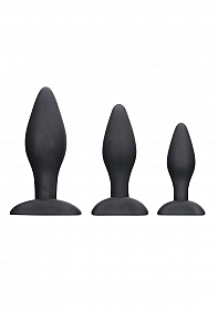 Apex Butt Plug Set - Black