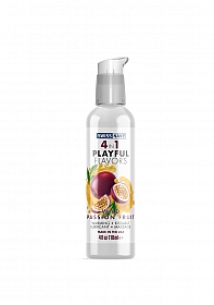 Playful 4 in 1 Lubricant with Wild Passion Fruit Flavor - 118ml