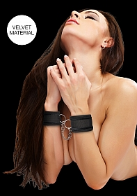 Velvet & Velcro Adjustable Handcuffs