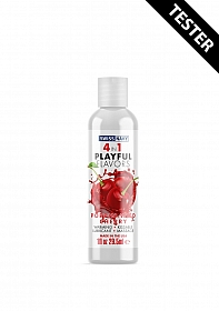 Poppin Wild Cherry Playful Flavored 4 in 1 Lubricant - 30ml