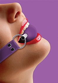 Solid Ball Gag - Purple