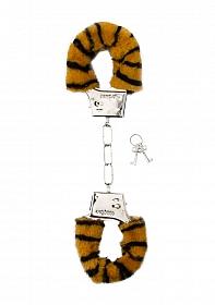 Furry Handcuffs - Tiger