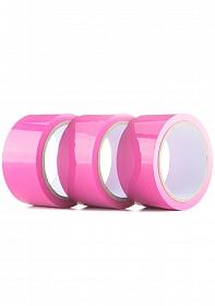 Bondage Tape - 3-pack - Pink