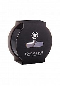 Non Sticky Bondage Tape - 17,5 Meter - Black