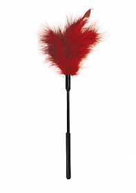 Feather Ticklers - 7 Inch - Red