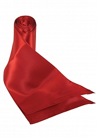 Silk Ribbon Restraint - Red