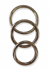 Metal O Ring 3 Pack