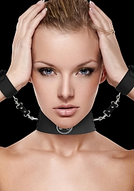 Collar with Cuffs - Black