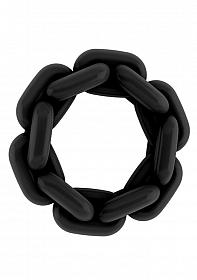 No.4 - Chain Cockring - Black
