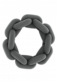 No.4 - Chain Cockring - Grey