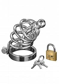 Asylum - 4 Ring Chasity Cage