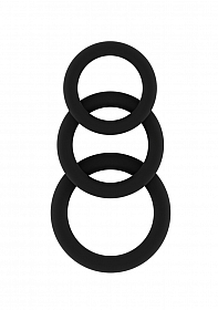No.25 - Cockring Set - Black
