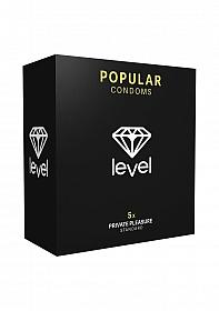 Level Popular Condoms - 5x