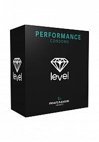 Level Performance Condoms - 5x