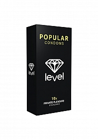 Level Popular Condoms - 10x