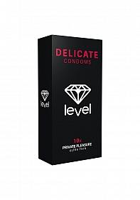 Level Delicate Condoms - 10x