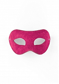 Eye Mask - Suede - Pink
