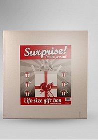 Suprise I'm the present