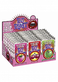 BJ Blast - Strawberry / Cherry and Green Apple - Display - 36 Pc