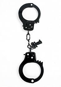 Metal Designer Handcuffs Black