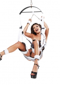 Fantasy Bondage Swing Set - White