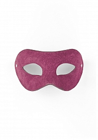 Eye Mask - Suede - Purple