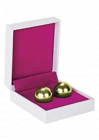 Ben Wa Balls - Medium Weight - Gold