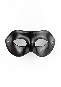 Eye Mask - PVC/Imitation Leather - Black
