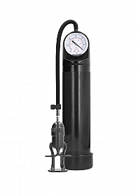 Deluxe  Pump With Advanced PSI Gauge - Black