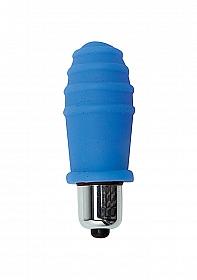 Climax Silicone Vibr. Bullet - Blue Pop