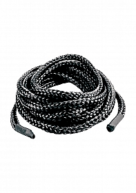 Japanese Silk Love Rope 5 meter - Black
