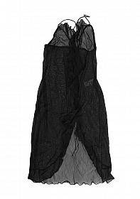 Babydoll + string Black One Size