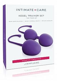 Intimate Care Kegel Trainer Set - Purple