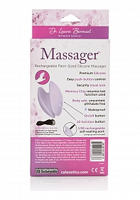 Massager Palm-Sized Silicone Massager - Purple