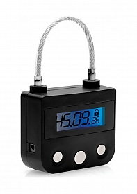 The Key Holder Time Lock - Black