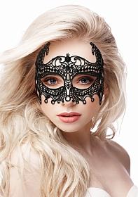 Empress Black Lace Mask  - Black