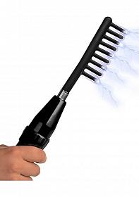 Extreme Twilight Comb Silicone E Stim Attachment - Black