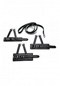 3 Piece Ball Stretcher Training Set - Black