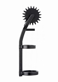 Thorn Double Finger Pinwheel - Black