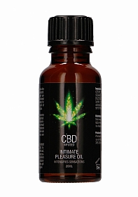 CBD Intimate Pleasure Oil - 20 ml