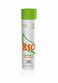 HOT BIO massage oil - cayenne pepper - 100 ml
