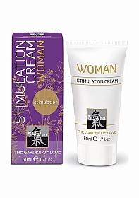 SHIATSU Stimulation cream for woman - 50 ml